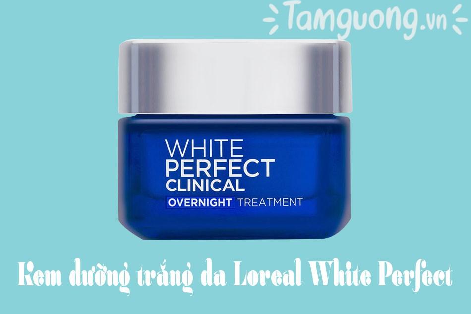 Kem dưỡng trắng da White Perfect Clinical của L'oreal Paris