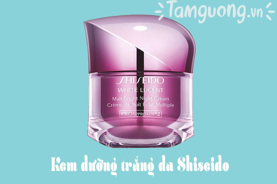 Kem dưỡng sáng da ban đêm Shiseido White Lucent MultiBright Night Cream