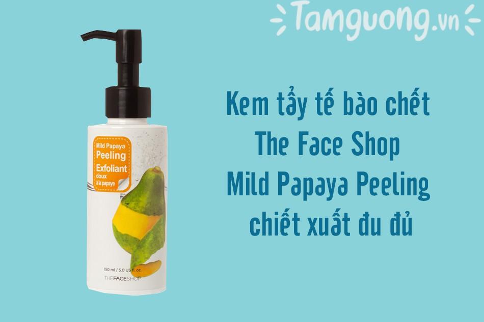 The Face Shop Mild Papaya Peeling