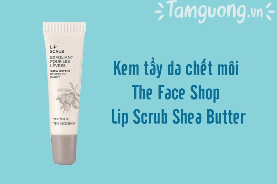 The Face Shop Lip Scrub Shea Butter