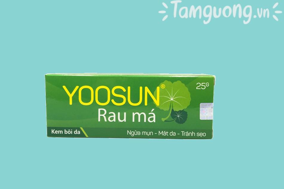 Kem trị mụn Yoosun rau má