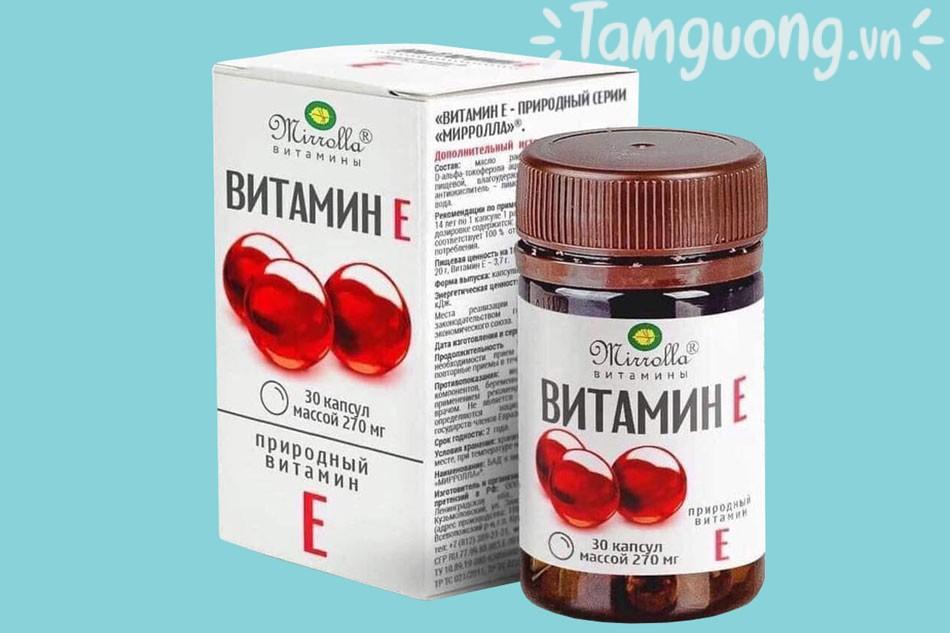 Vitamin E đỏ Nga