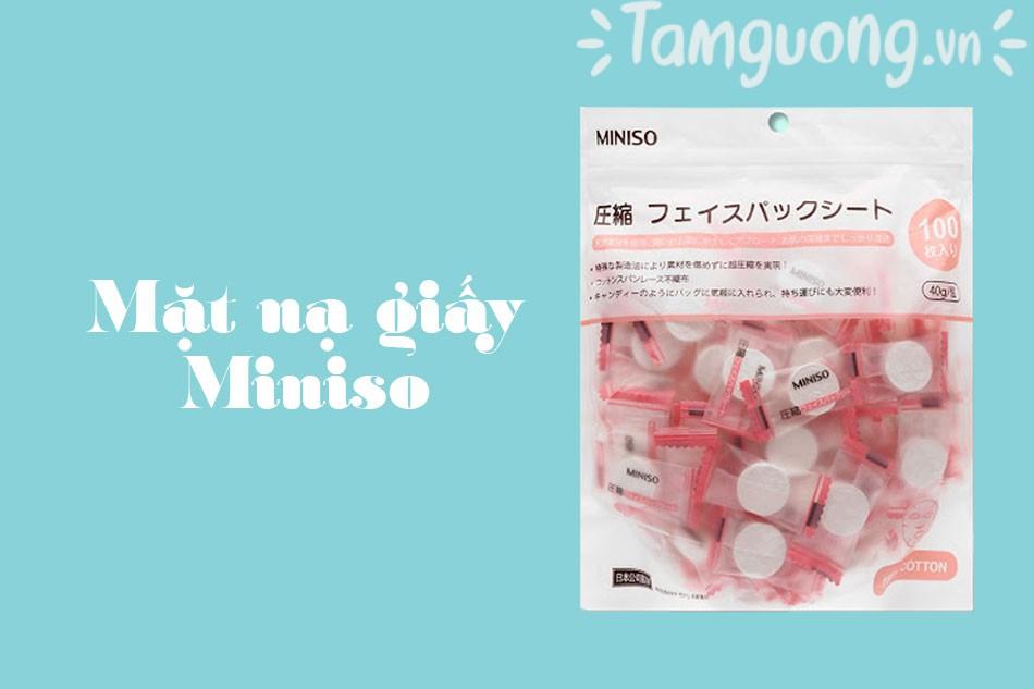 Mặt nạ giấy Miniso