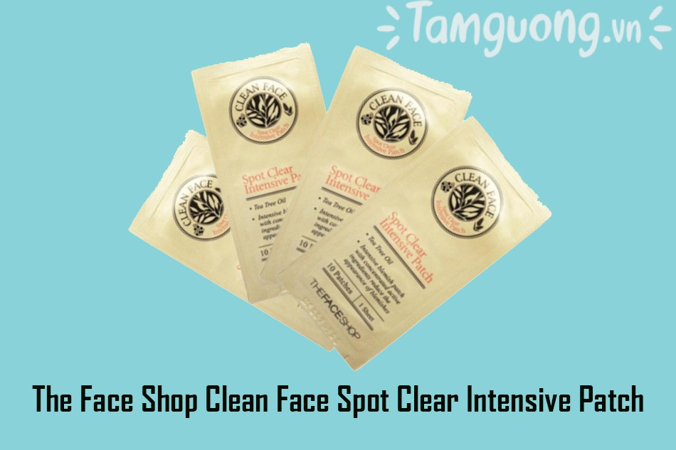 Miếng dán mụn The Face Shop Clean Face Spot Clear Intensive Patch