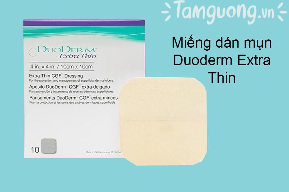 Miếng dán mụn Duoderm Extra Thin