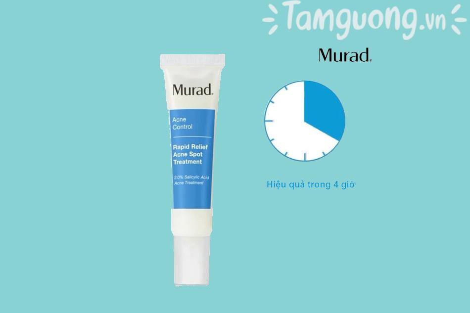Review kem trị mụn Murad 4h