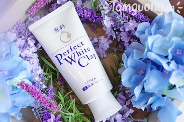 Hình ảnh sữa rửa mặt Senka Perfect White Clay