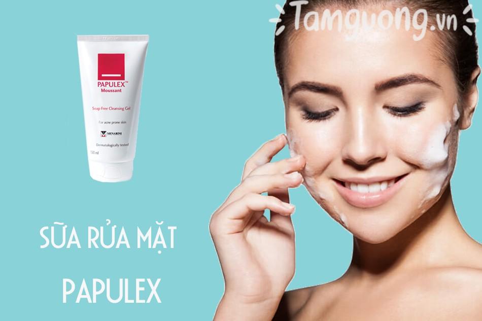 Sữa rửa mặt Papulex