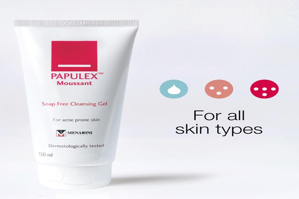 Sữa rửa mặt Papulex giá bao nhiêu?