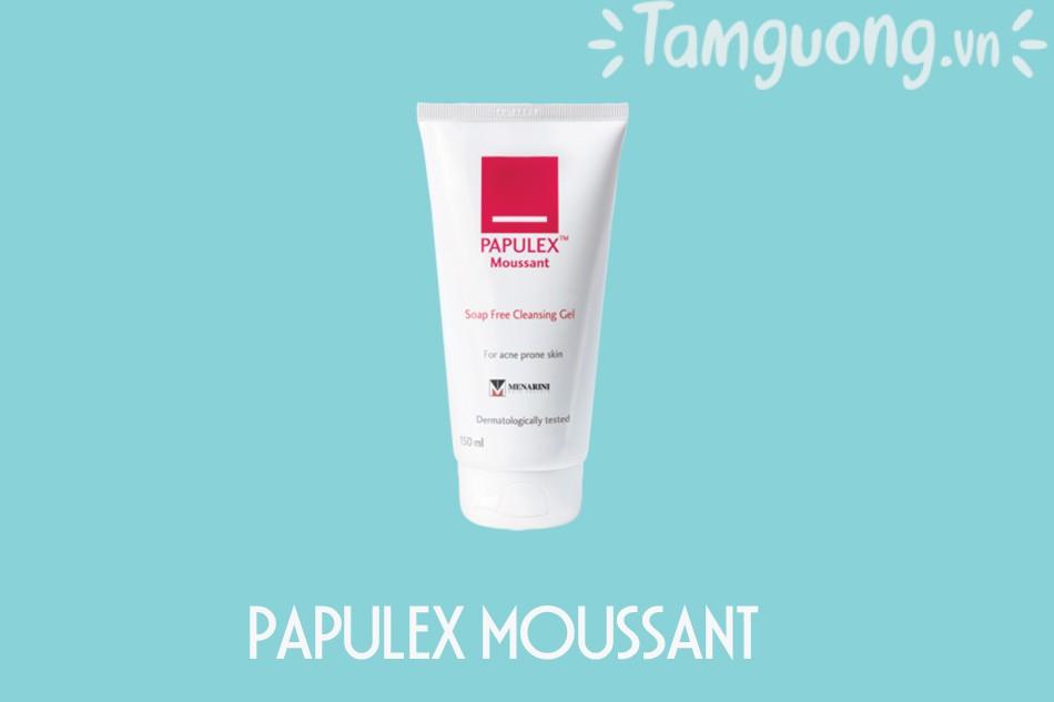Sữa rửa mặt Papulex moussant