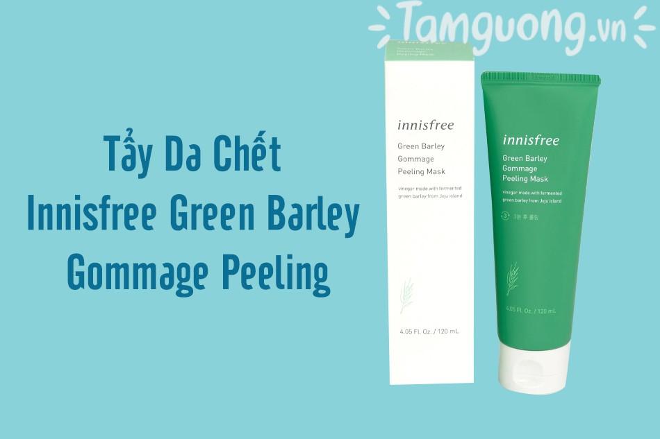 Tẩy Da Chết Innisfree Green Barley Gommage Peeling
