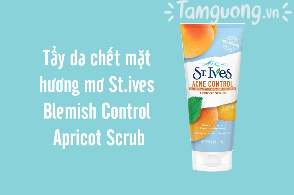 St.ives Blemish Control Apricot Scrub