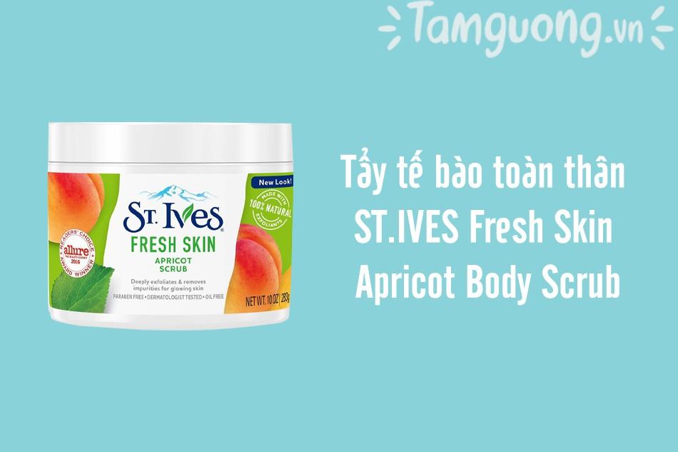ST.IVES Fresh Skin Apricot Body Scrub