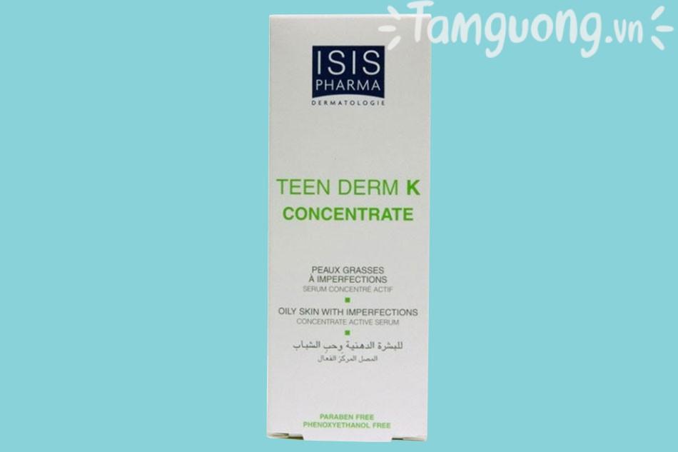 Hướng dẫn sử dụng Teen Derm K Concentrate