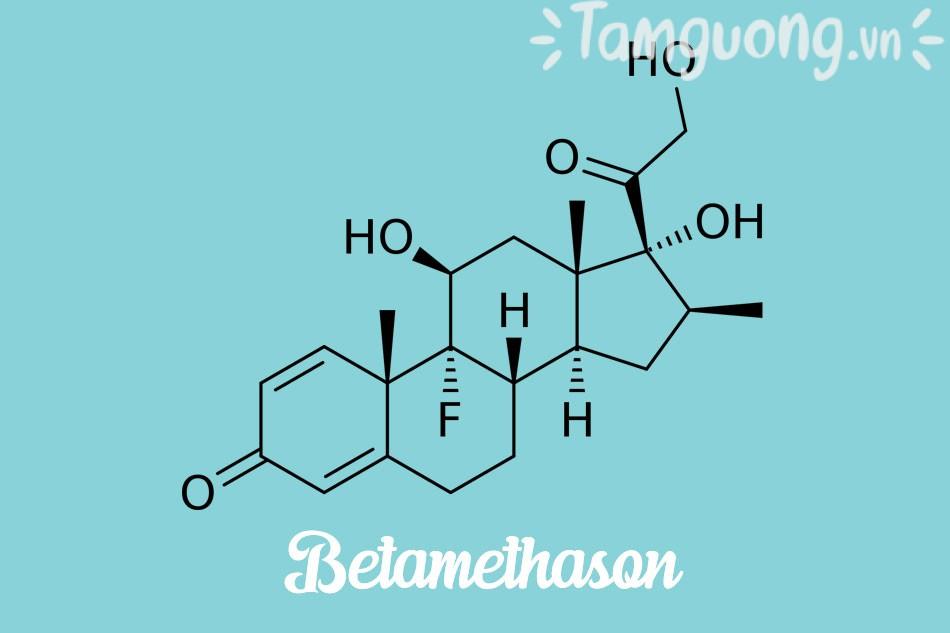 Thành phần Almetamin: Betamethasone