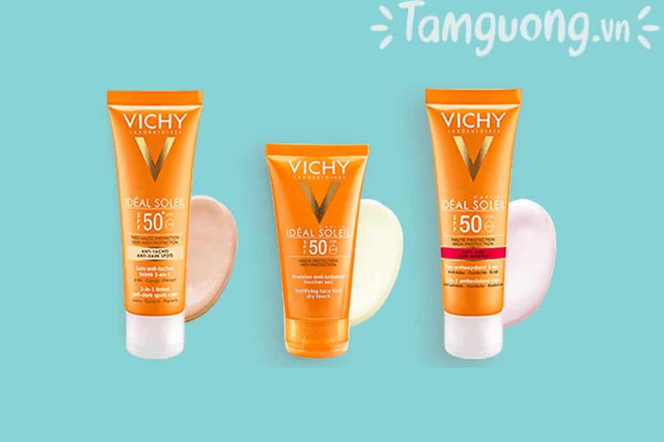 Vichy kem chống nắng ideal soleil