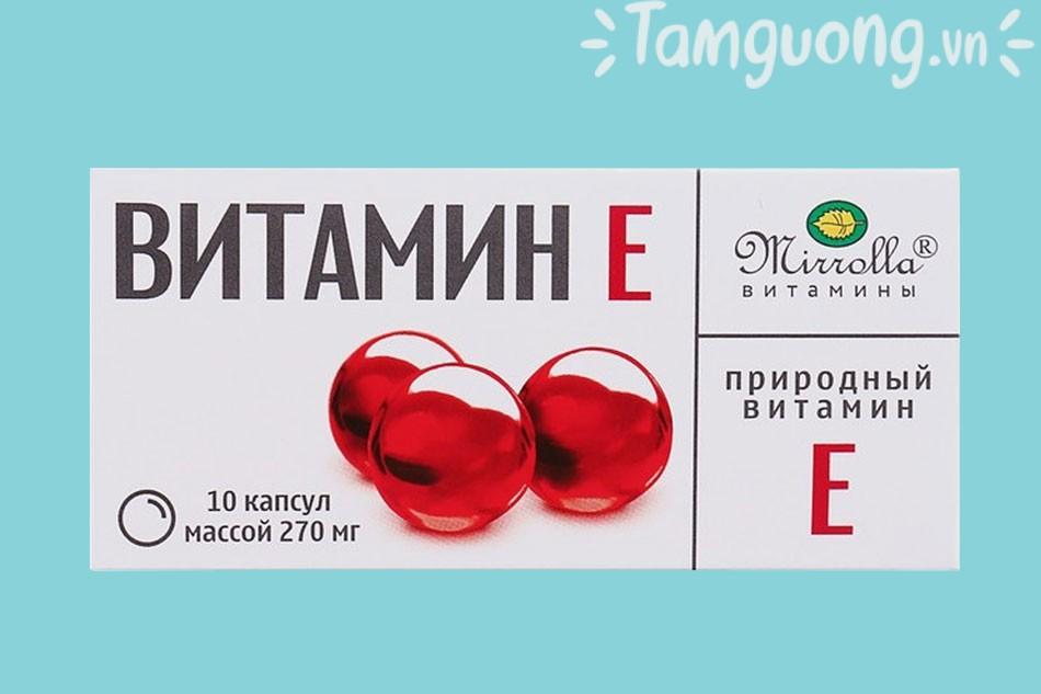 Vitamin E đỏ Nga là gì?