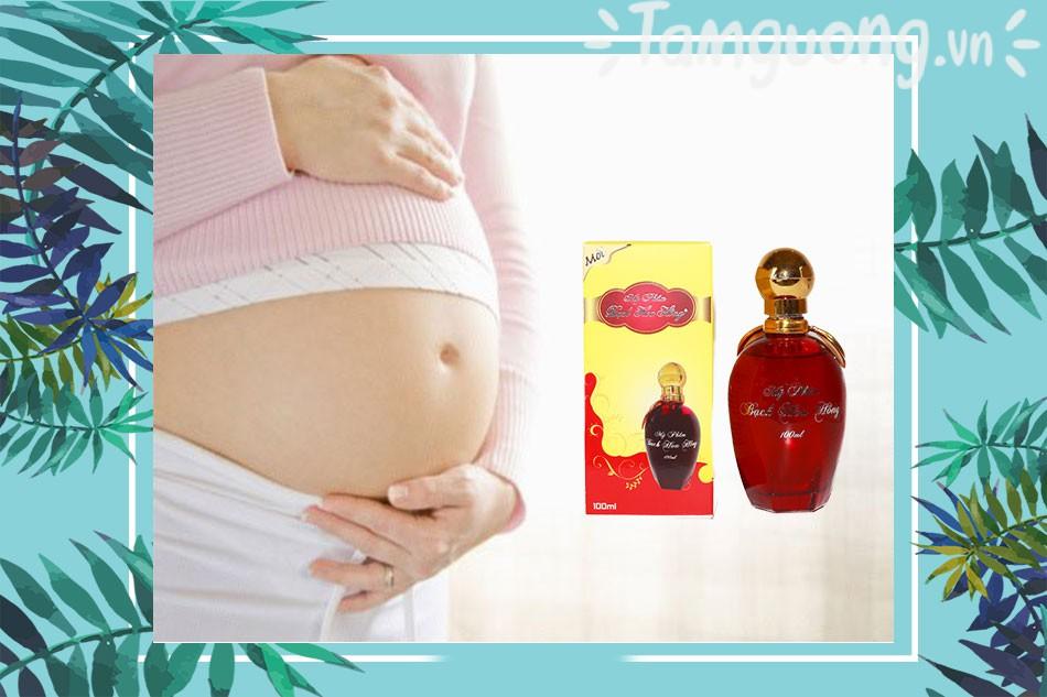 Bạch Hoa Hồng có sử dụng được cho phụ nữ có thai không?