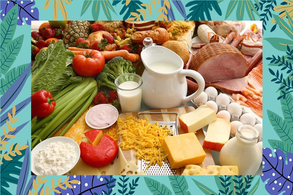 Các nhóm thực phẩm không nên ăn khi trầy xước da