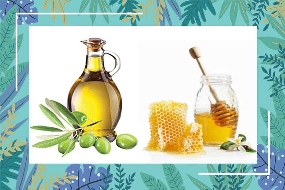 Cách trị mụn và vết thâm bằng dầu oliu và mật ong