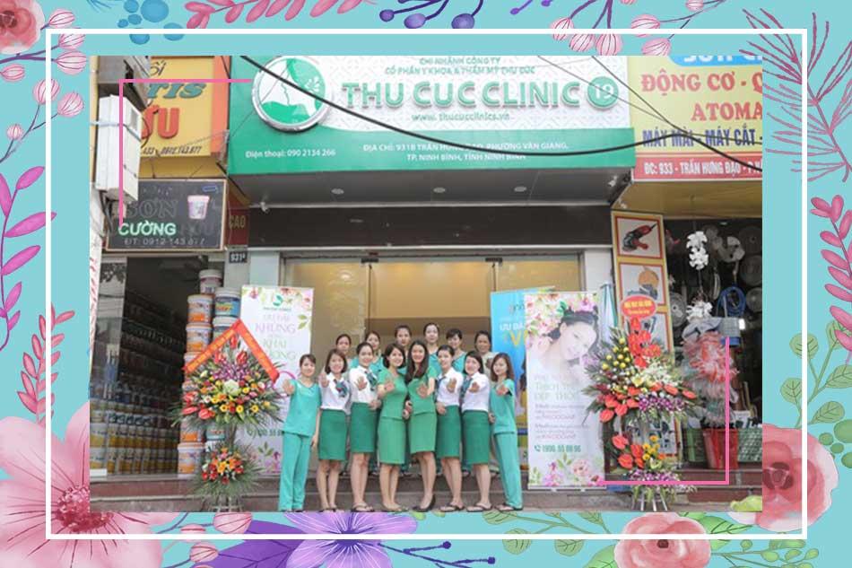 Chi nhánh Thu Cúc tại 931b đường Trần Hưng Đạo - Ninh Bình