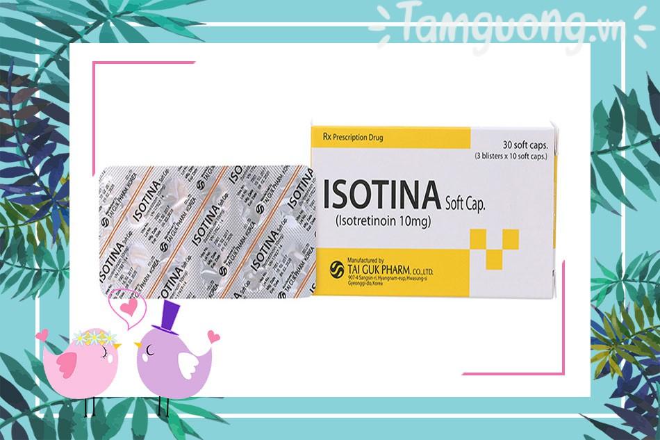 Mua thuốc trị mụn Isotina ở đâu tại Hà Nội, TP Hồ Chí Minh?