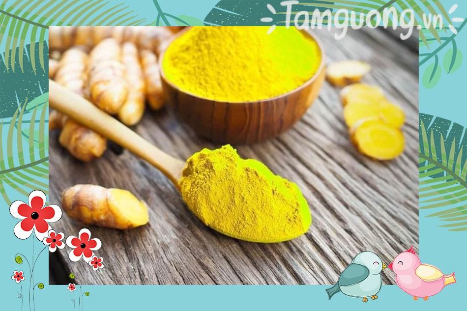 Tác dụng của tinh bột nghệ với mật ong đối với sức khỏe
