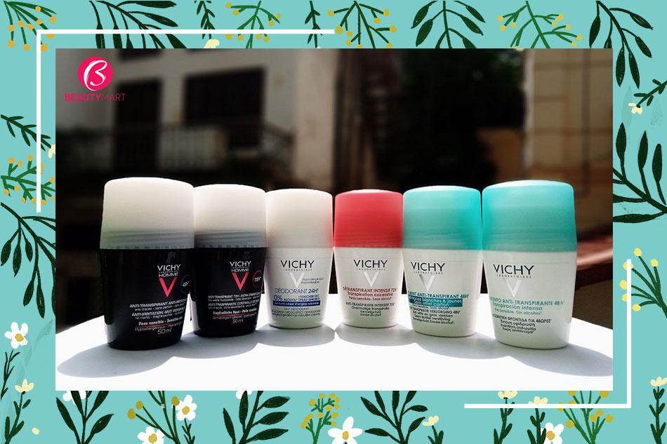 Đánh giá lăn khử mùi Vichy từ chuyên gia