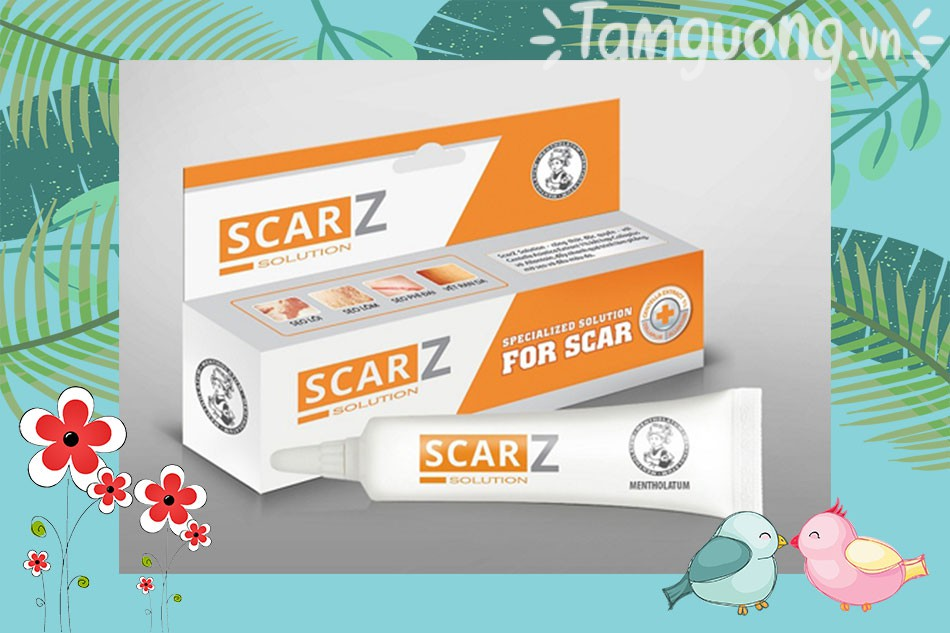 Hướng dẫn sử dụng thuốc trị sẹo Scarz