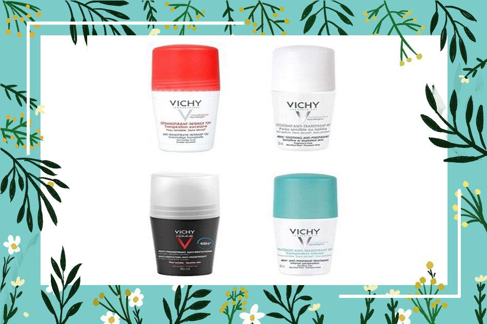 Lăn khử mùi Vichy chính hãng mua ở đâu tại Hà Nội, TpHCM?
