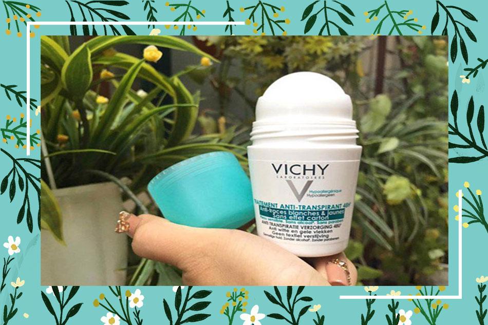 Lăn khử mùi Vichy có tác dụng gì?
