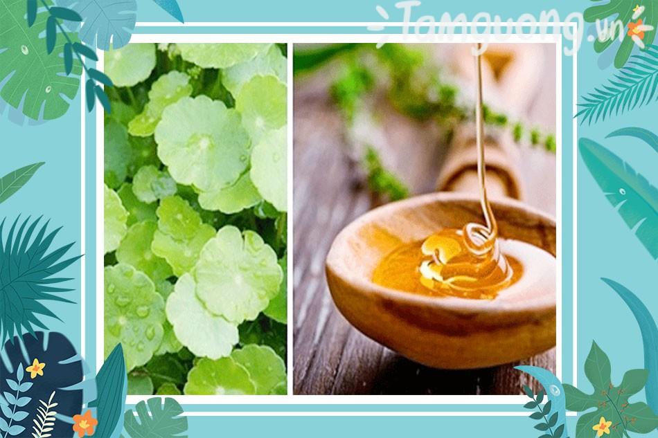 Mặt nạ rau má và mật ong trị mụn cám