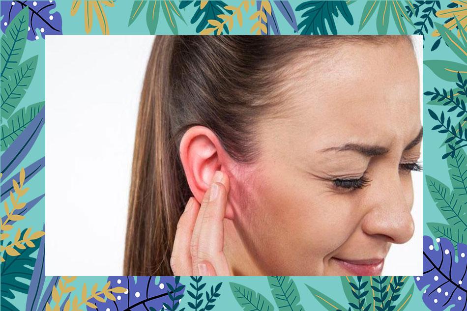 Mụn mọc ở vành tai thể hiện bệnh gì?