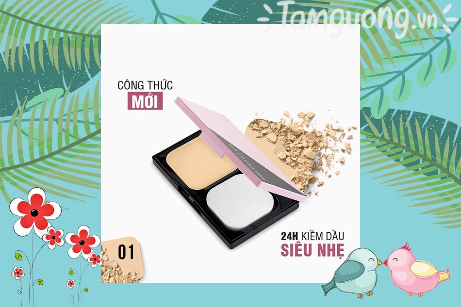 Phấn phủ Maybelline ClearSmoth all In One