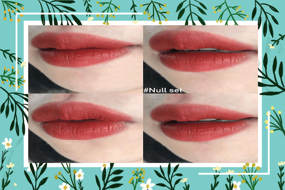 Review son 3CE Soft Lip Lacquer Null Set từ người dùng