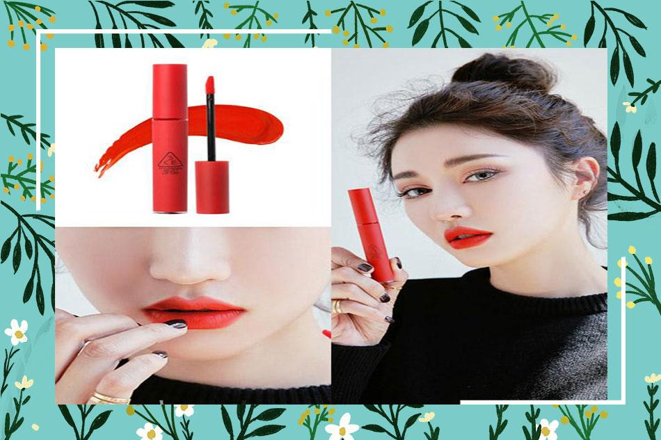 Review son 3CE Velvet Lip Tint Save Me từ người dùng