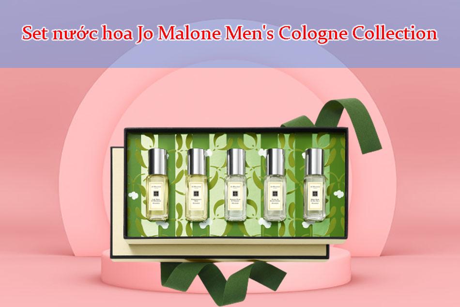 Set nước hoa Jo Malone Men's Cologne Collection