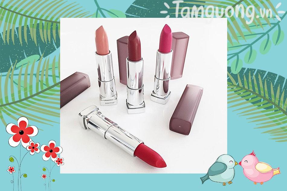 Son Maybelline Creamy Matte Color Lipstick