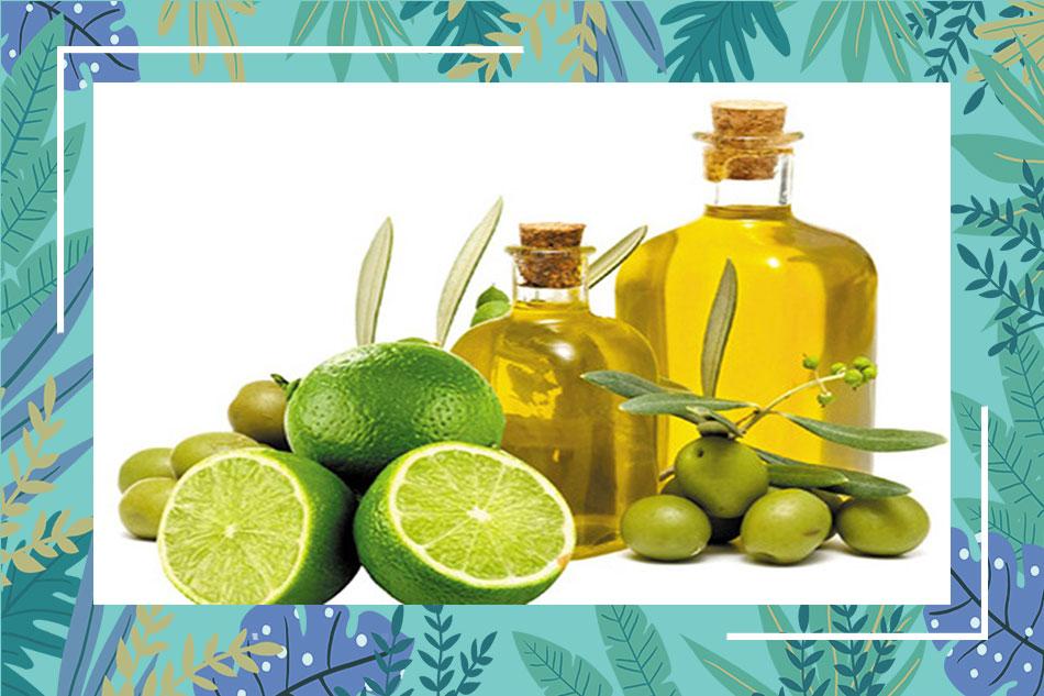 Sử dụng nước cốt chanh và dầu Oliu trị mụn thâm
