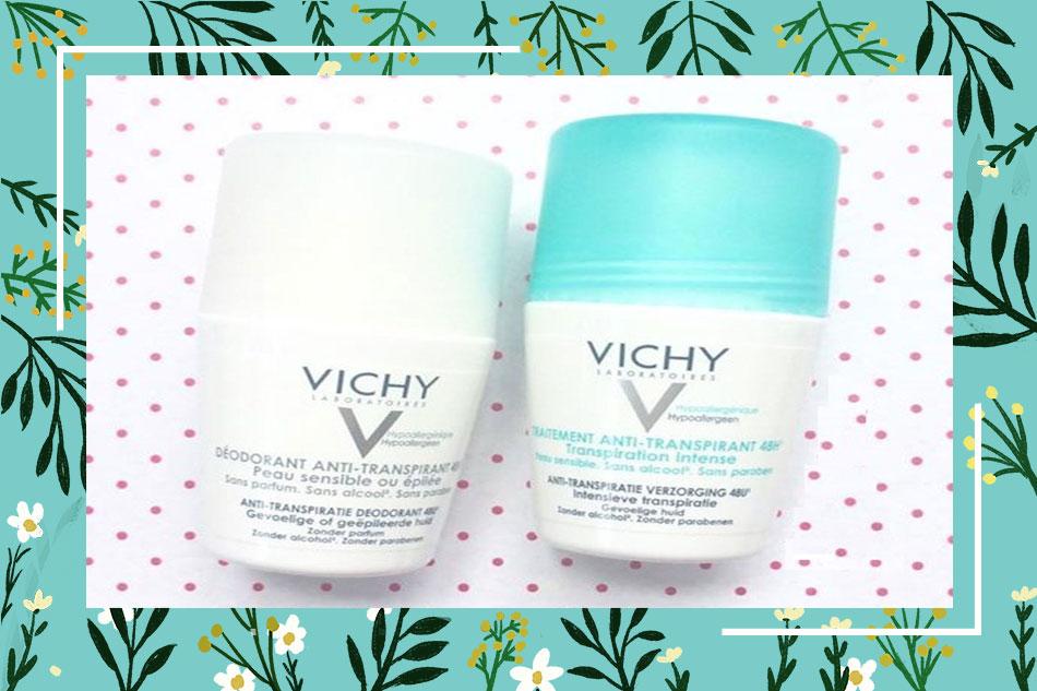 Thành phần của lăn khử mùi Vichy của Pháp
