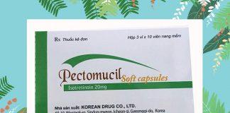 Thuốc Pectomucil Soft Capsule 20mg
