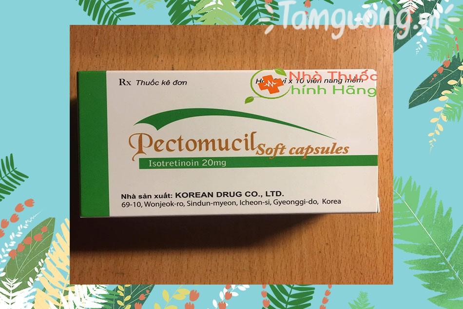 Tác dụng của Pectomucil