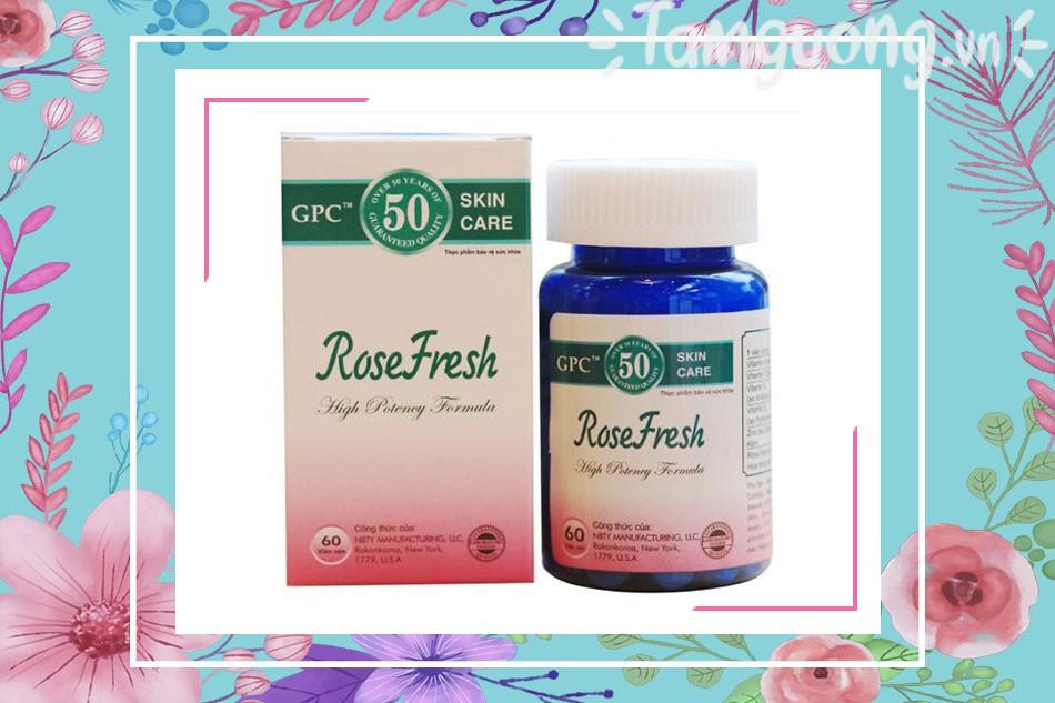 Thuốc trị mụn Rose Fresh là gì?