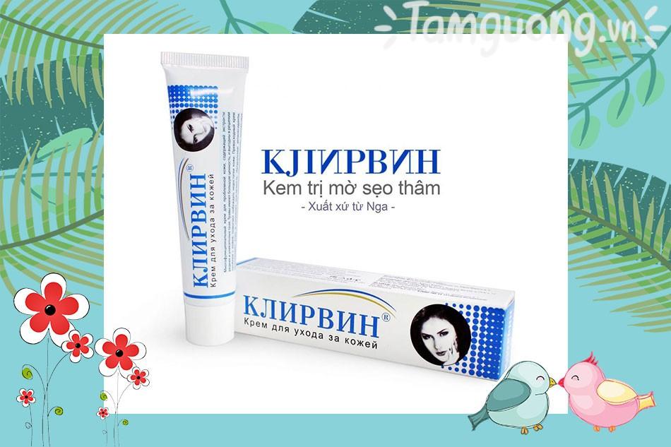 Thuốc trị sẹo của Nga Klirvin