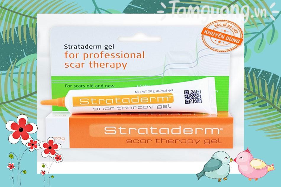 Thuốc trị sẹo rỗ - sẹo lõm Strataderm