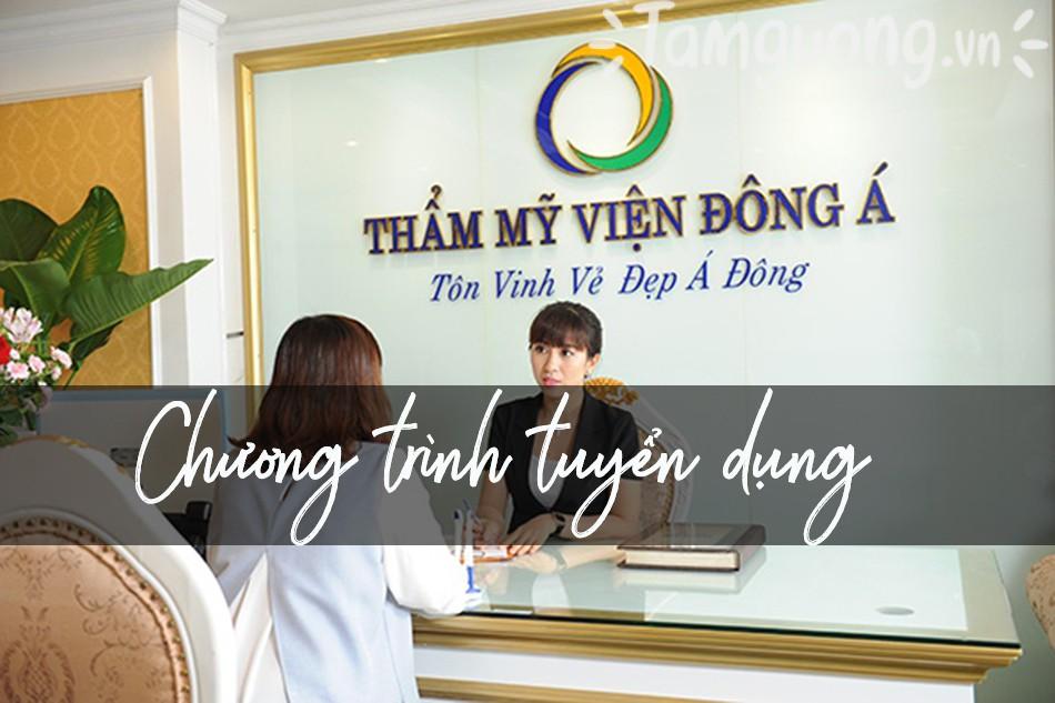 Bệnh viện Đông Á tuyển dụng