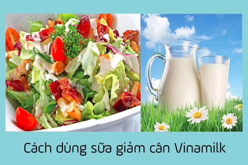 Cách dùng sữa giảm cân Vinamilk