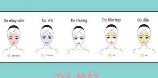 Cách nhận biết loại da