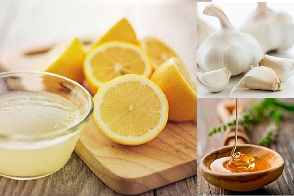 Cách trị mụn trứng cá bằng tỏi, mật ong kết hợp nước cốt chanh