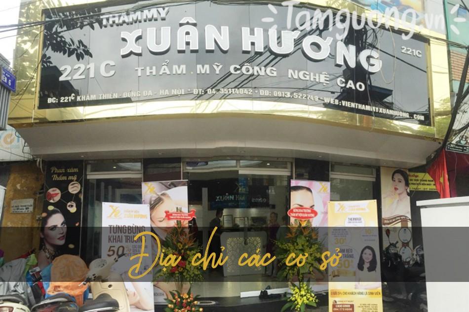 Địa chỉ thẩm mỹ viện Xuân Hương